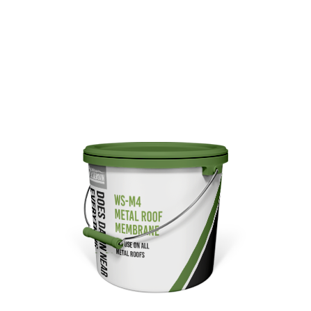 WSM 4 5 Gallon Pail Metal Roof Coating