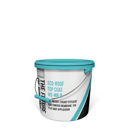 WSM 6 5 Gallon Pail Flat Roof Coating